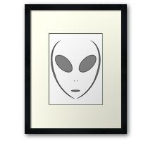 Alien 16 Grey Framed Print