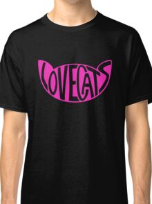 Lovecats - Pink Classic T-Shirt