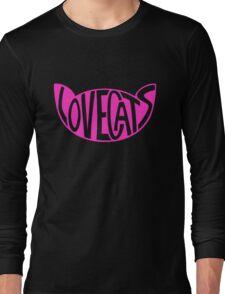 Lovecats - Pink Long Sleeve T-Shirt