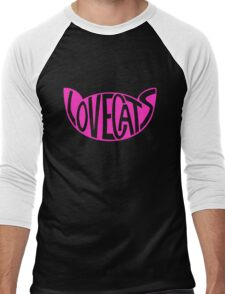 Lovecats - Pink Men's Baseball ¾ T-Shirt