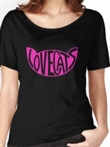 Lovecats - Pink Women's Relaxed Fit T-Shirt