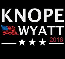 KNOPE WYATT PARKS AND RECREATION by Jimmy Fallon