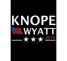 KNOPE WYATT PARKS AND RECREATION Photographic Print