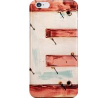 E. iPhone Case/Skin