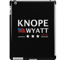 KNOPE WYATT PARKS AND RECREATION iPad Case/Skin
