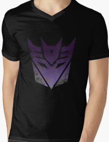 Transformers Decepticons Mens V-Neck T-Shirt