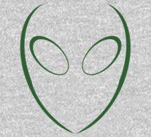 Alien 2 Green Kids Clothes