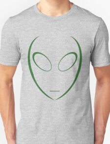 Alien 5 Green Unisex T-Shirt