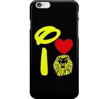 I Heart The Lion King (Inverted) iPhone Case/Skin