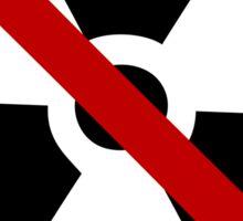 symbol anti nuclear Sticker