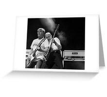 Rick Parfitt & Francis Rossi Greeting Card