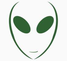 Alien 7 Green Kids Tee