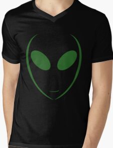Alien 7 Green Mens V-Neck T-Shirt