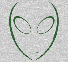 Alien 8 Green Kids Clothes