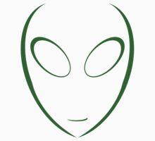 Alien 8 Green Kids Tee