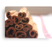 Cinnamon. Canvas Print