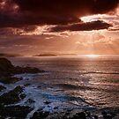Caithness Coast Sunset, Caithness, Scotland by Martina Cross