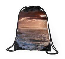 Caithness Coast Sunset, Caithness, Scotland Drawstring Bag