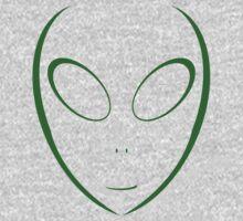 Alien 11 Green Kids Clothes