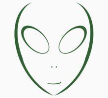 Alien 11 Green Kids Tee