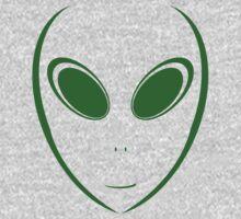 Alien 12 Green Kids Clothes