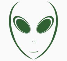 Alien 12 Green One Piece - Short Sleeve