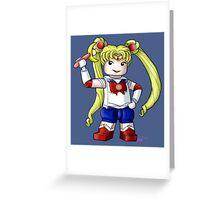 Legolized Sailor Moon Greeting Card