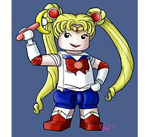 Legolized Sailor Moon Photographic Print