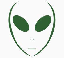 Alien 13 Green One Piece - Short Sleeve