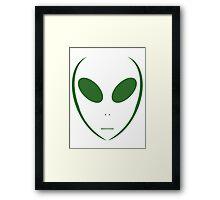 Alien 13 Green Framed Print