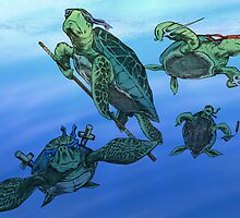 Ninja Turtles by Colin Wells