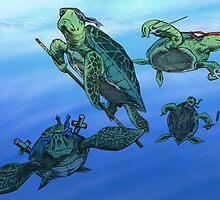 Ninja Turtles by Colin Wells