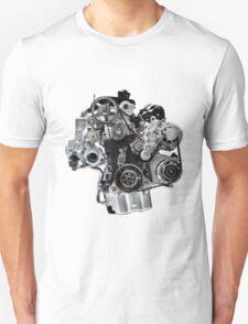 Internal Combustion VW Car Engine T-shirt design T-Shirt