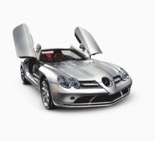 Mercedes Benz SLR McLaren super car T-shirt design One Piece - Short Sleeve