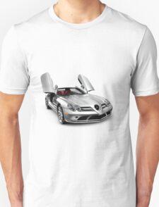 Mercedes Benz SLR McLaren super car T-shirt design T-Shirt