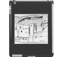 Arizona cliff dwelling iPad Case/Skin