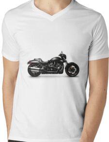 Harley Davidson VRSCD Night Rod Special motorbike T-shirt design Mens V-Neck T-Shirt