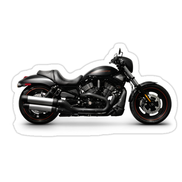 Harley Davidson VRSCD Night Rod Special motorbike T-shirt design by ArtNudePhotos