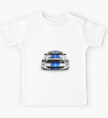 2008 Shelby Ford GT500KR sports car T-shirt design Kids Tee
