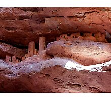Cliff Dwellings  Photographic Print