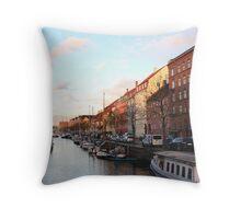 Denmark 3 Throw Pillow