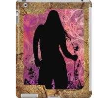 Sihouette Garden ipad case iPad Case/Skin