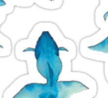 Blue Goldfish Sticker