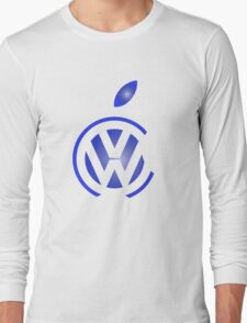 volkswagen and apple Long Sleeve T-Shirt