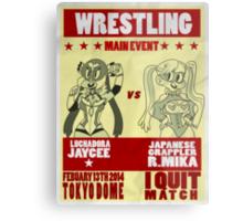 Jaycee VS R. Mika Metal Print