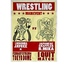 Jaycee VS R. Mika Photographic Print