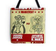 Jaycee VS R. Mika Tote Bag
