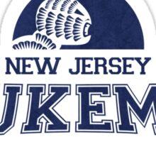 New Jersey Flukemen (Blue) Sticker