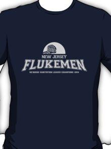 New Jersey Flukemen (White) T-Shirt