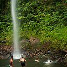 Upper Pahnsapw Falls - Pohnpei, Micronesia by Alex Zuccarelli